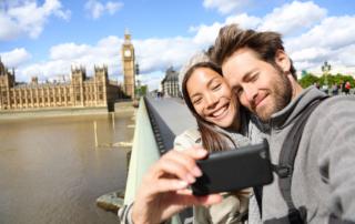 couple on a romantic trip